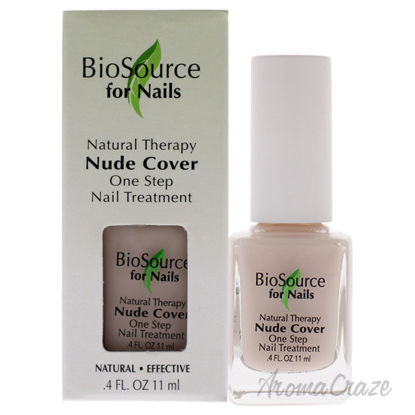 Picture of Natural Therapy Nude Cover by BioSource For Nails for Women - 0.4 oz Nail Treatment