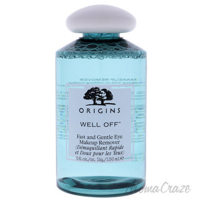 Picture of Well Off Fast And Gentle Eye Makeup Remover by Origins for Unisex - 5.0 oz Makeup Remover