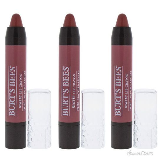Picture of Burts Bees Lip Crayon - 405 Sedona Sands by Burts Bees for Women - 0.11 oz Lipstick - Pack of 3