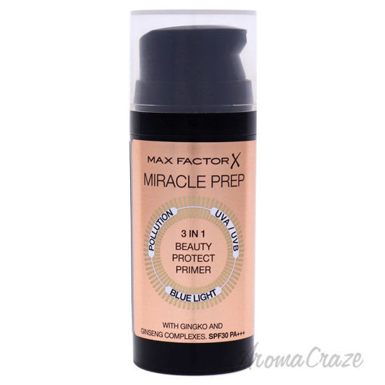 Picture of Miracle Beauty 3-In-1 Prep Primer by Max Factor for Women - 1.01 oz Primer