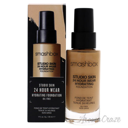 Picture of Studio Skin 24 Hour Wear Hydrating Foundation - 2.1 Light With Warm-Peachy Undertone by Smashbox for Women - 1.0 oz Foundation