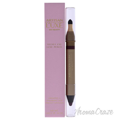 Picture of Velvet Eye Luxe Pencil Tempt - Plum Brown by Artisan Luxe for Women - 0.05 oz