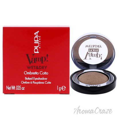 Picture of Vamp! Wet and Dry Baked Eyeshadow 100 Champagne Gold by Pupa Milano for Women 0.035 oz Eye Shadow