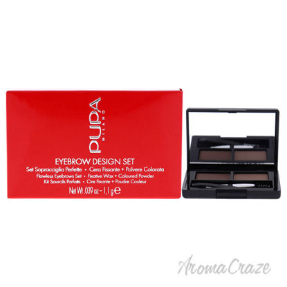 Picture of Eyebrow Design Set 001 Blond by Pupa Milano for Women 0.039 oz EyebrowPowder