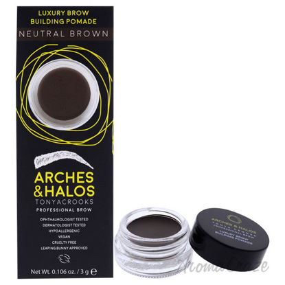 Picture of Luxury Brow Buiding Pomade Neutral Brown by Arches and Halos for Women 0.106 oz Pomade