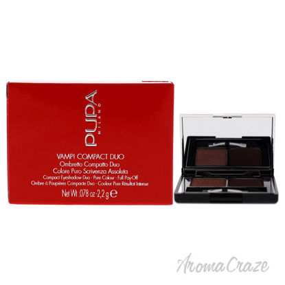 Picture of Vamp! Compact Duo Eyeshadow 002 Pink Earth by Pupa Milano for Women 0.078 oz Eye Shadow