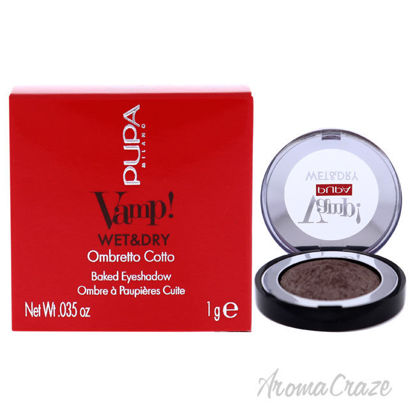 Picture of Vamp! Wet and Dry Baked Eyeshadow 301 Cold Taupe by Pupa Milano for Women 0.035 oz Eye Shadow