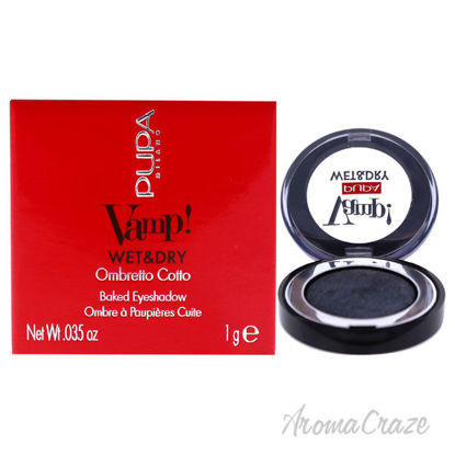 Picture of Vamp! Wet and Dry Baked Eyeshadow 305 Anthracite Grey by Pupa Milano for Women 0.035 oz Eye Shadow