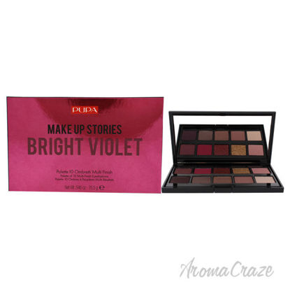 Picture of Make Up Stories Eyeshadow Palette 003 Bright Violet by Pupa Milano for Women 0.63 oz Eye Shadow
