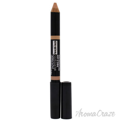 Picture of Duo Highlighter Matt and Shine 002 Nude by Pupa Milano for Women 0.148 oz Eye Pencil