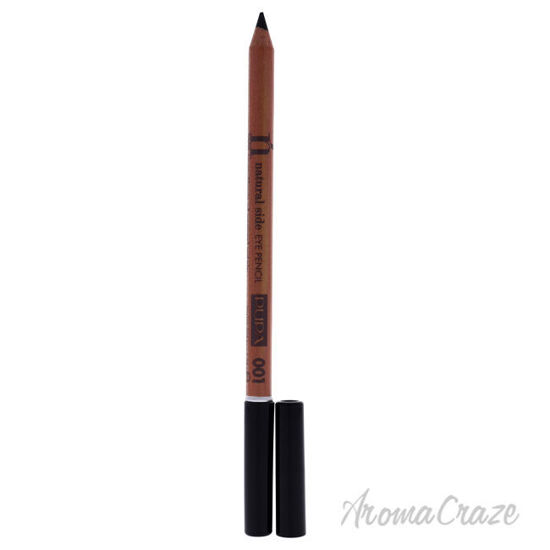 Picture of Natural Side Eye Pencil 001 Deep Black by Pupa Milano for Women 0.038 oz Eyebrow Pencil