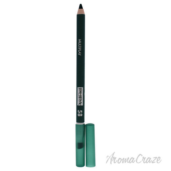 Picture of Multiplay Eye Pencil 58 Plastic Green by Pupa Milano for Women 0.04 oz Eye Pencil