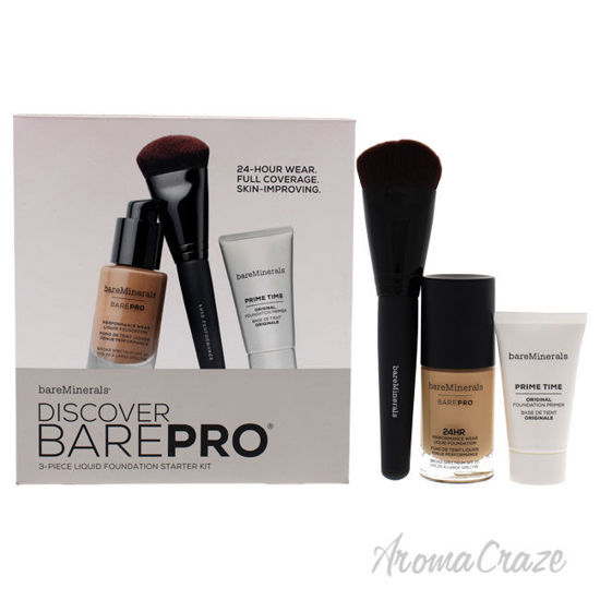 Picture of Discover Barepro Liquid Foundation Starter Kit by BareMinerals for Women