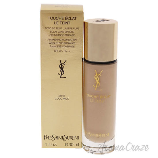 Picture of Le Teint Touche Eclat Awakening Foundation SPF 22 BR05 Cool Milk by Yves Saint Laurent for Women 1 oz Foundation