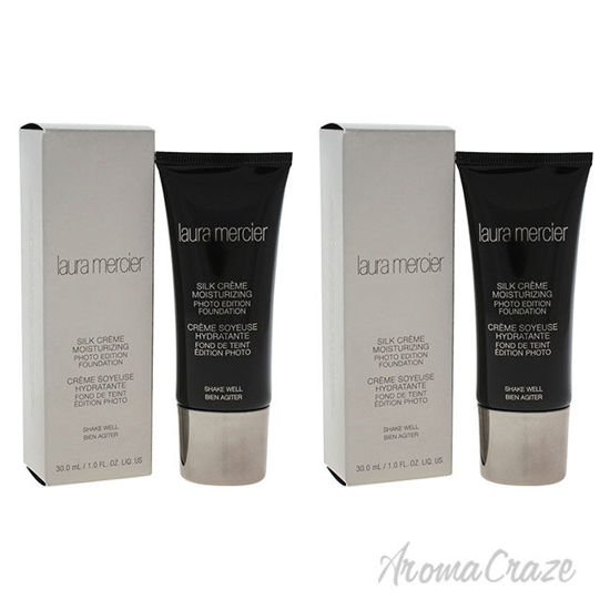 Picture of Silk Creme Moisturizing Photo Edition Bamboo Beige by Laura Mercier for Women 1 oz Foundation Pack of 2