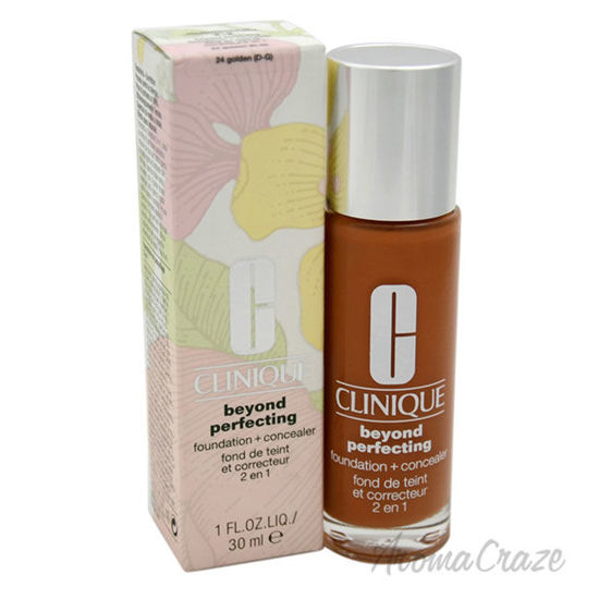 Picture of Beyond Perfecting Foundation Plus Concealer 24 Golden D G by Clinique for Women 1 oz Makeup
