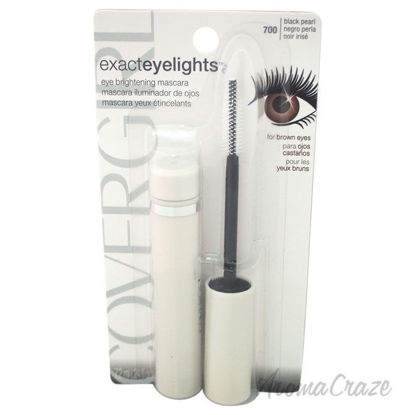 Picture of Exact Eyelights Mascara 700 Black Pearl by CoverGirl for Women 0.24 oz Mascara