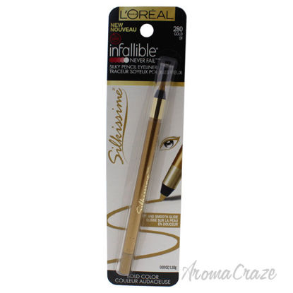 Picture of Infallible Never Fail Silkissime Eyeliner 280 Gold by LOreal Professional for Women 0.03 oz Eyeliner