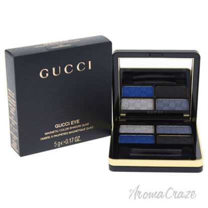 Picture of Magnetic Color Shadow Quad 100 Ocean Rhapsody by Gucci for Women 0.17 oz Eyeshadow
