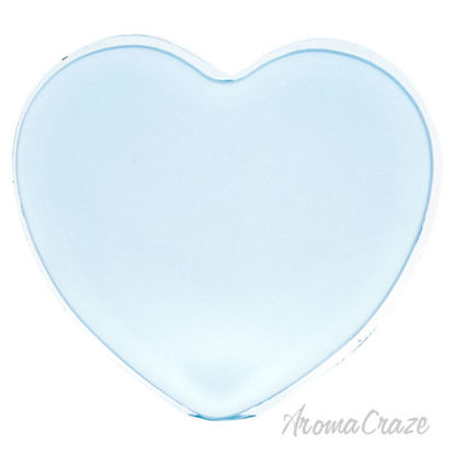 Picture of Silicone Heart Puff Blue by Sun Smile for Women 1 Pc Sponge