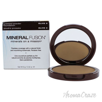 Picture of Pressed Powder Foundation 03 Olive by Mineral Fusion for Women 0.32 oz Foundation