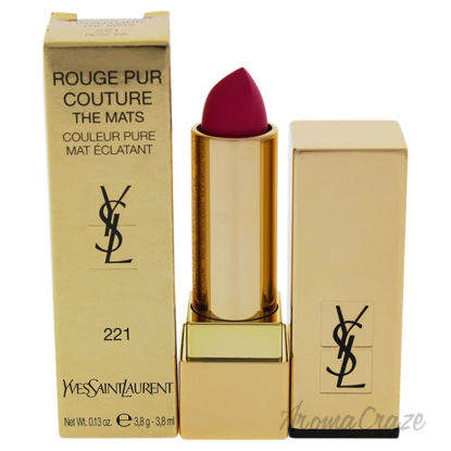 Picture of Rouge Pur Couture The Mats 221 Rose Ink by Yves Saint Laurent for Women 0.13 oz Lipstick