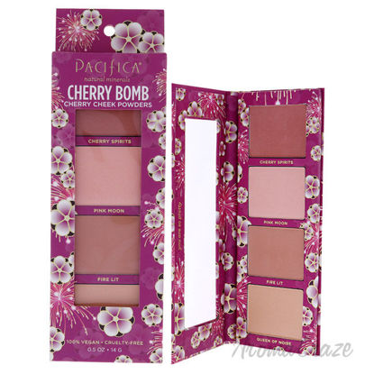 Picture of Cherry Bomb Cherry Cheek Powders by Pacifica for Women 0.5 oz Blush