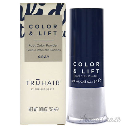 Picture of Color and Lift Root Color Powder Gray by Truhair for Unisex 0.18 oz Hair Color