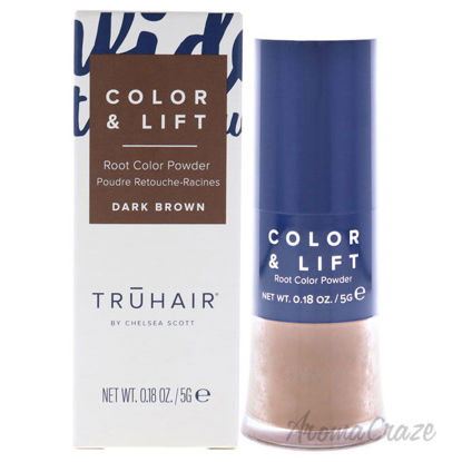 Picture of Color and Lift Root Color Powder Dark Brown by Truhair for Unisex 0.18 oz Hair Color