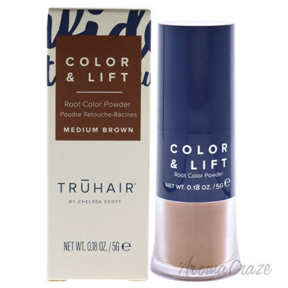 Picture of Color and Lift Root Color Powder Medium Brown by Truhair for Unisex 0.18 oz Hair Color