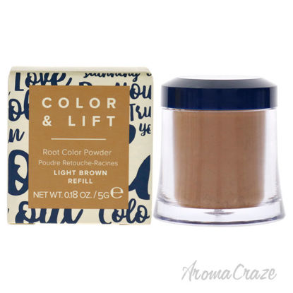 Picture of Color and Lift Root Color Powder Light Brown by Truhair for Unisex 0.18 oz Hair Color (Refill)