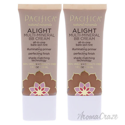 Picture of Alight Multi-Mineral BB Cream 3 Dark by Pacifica for Women 1 oz Makeup Pack of 2
