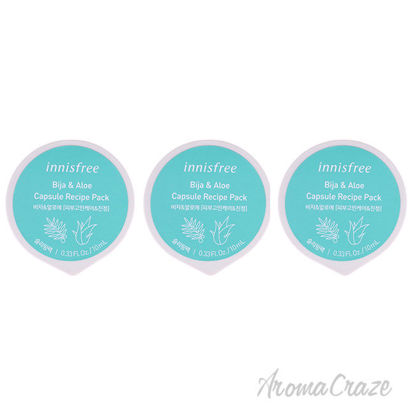 Picture of Capsule Recipe Pack Mask Bija and Aloe by Innisfree for Unisex 0.33 oz Mask Pack of 3