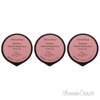 Picture of Capsule Recipe Pack Mask Red Bean by Innisfree for Unisex 0.33 oz Mask Pack of 3