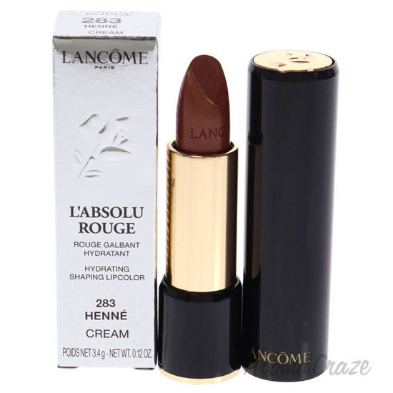Picture of LAbsolu Rouge Hydrating Shaping Lipcolor 283 Henne Cream by Lancome for Women 0.12 oz Lipstick