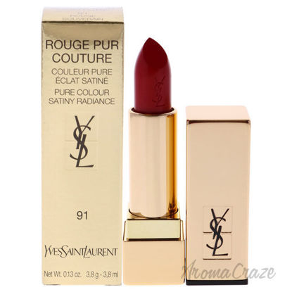 Picture of Rouge Pur Couture Lipstick 91 Rouge Souverain by Yves Saint Laurent for Woman 0.13 oz Lipstick