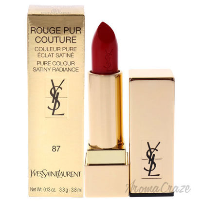 Picture of Rouge Pur Couture Lipstick 87 Red Dominance by Yves Saint Laurent for Woman 0.13 oz Lipstick