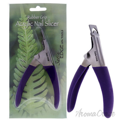 Picture of Rubber Grip Acrylic Nail Slicer by Satin Edge for Unisex 1 Pc Nail Slicer