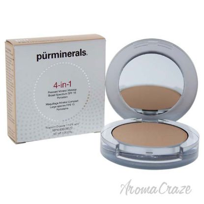 Picture of 4-in-1 Pressed Mineral Makeup Powder SPF 15 - LP4 Porcelain by Pur Minerals for Women - 0.28 oz Foundation