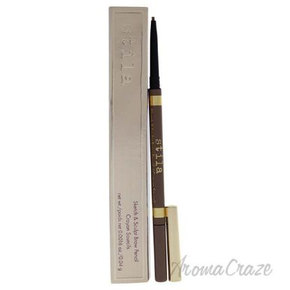 Picture of Sketch And Sculpt Brow Pencil - Light by Stila for Women - 0.0016 oz Eyebrow Pencil