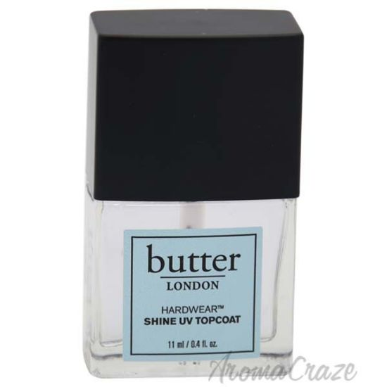 Picture of Hardwear Shine UV Topcoat by Butter London for Women - 0.4 oz Nail Polish