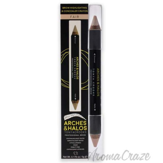 Picture of Brow Highlighting and Concealer Crayon - Fair by Arches and Halos for Women - 0.176 oz Highlighter