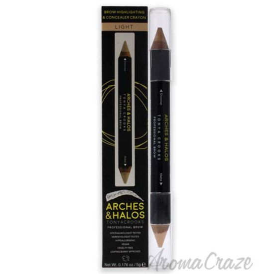 Picture of Brow Highlighting and Concealer Crayon - Light by Arches and Halos for Women - 0.176 oz Highlighter