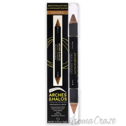 Picture of Brow Highlighting and Concealer Crayon - Golden by Arches and Halos for Women - 0.176 oz Highlighter