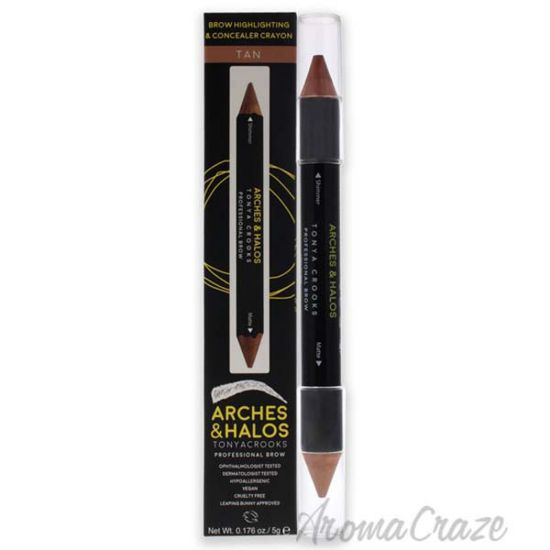 Picture of Brow Highlighting and Concealer Crayon - Tan by Arches and Halos for Women - 0.176 oz Highlighter