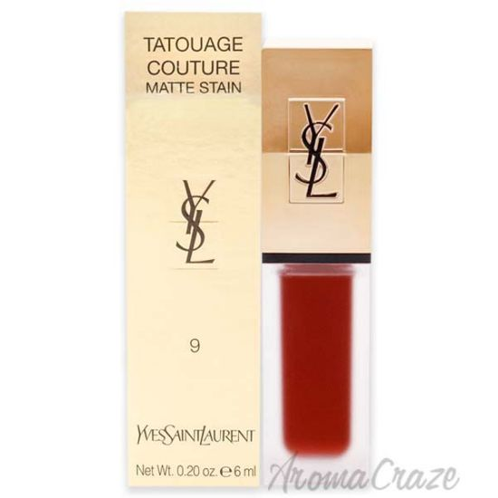 Picture of Tatouage Couture Liquid Matte Lip Stain 09 Grenat No Rules by Yves Saint Laurent for Woman 0.2 oz Lip Gloss