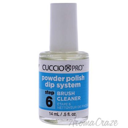 Picture of Pro Powder Polish Dip System Brush Cleaner - Step 6 by Cuccio for Women - 0.5 oz Nail Polish