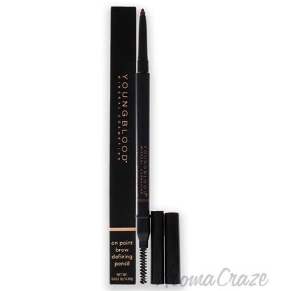 Picture of On Point Brow Defining Pencil - Soft Brown by Youngblood for Women - 0.012 oz Eyebrow Pencil