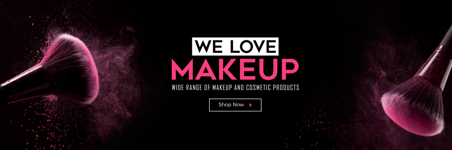 We love Makeup - Wide range of makeup and cosmetic Products