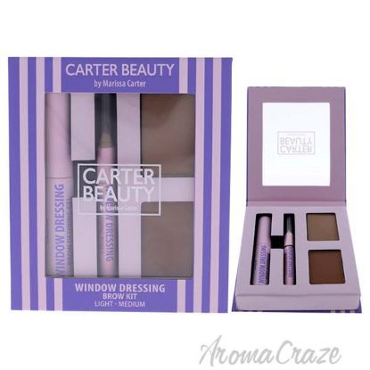 Picture of Window Dressing Brow Kit Light-Medium by Carter Beauty for Women 3 Pc